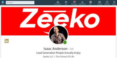 Zeeko - Linkedin Screen Shot