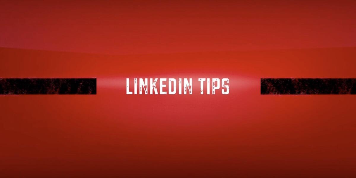 Linkedin Tips With Zeeko