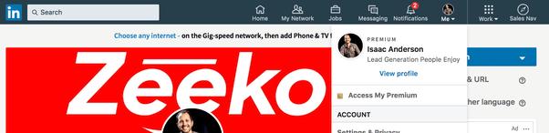 Zeeko - editing profile summary part 1