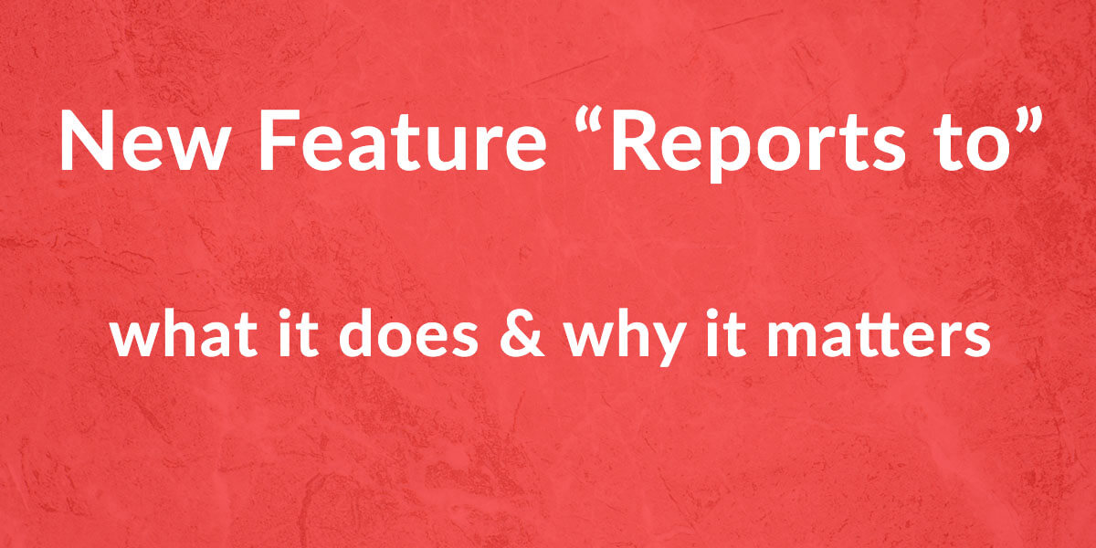 Featured Image - Add Manager / Reports to