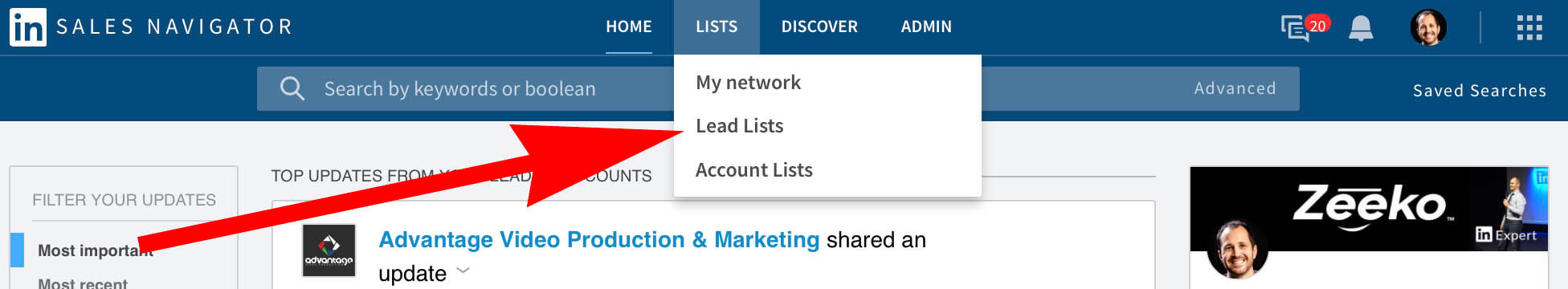 Where to find Linkedin Lead Lists