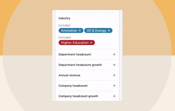 Linkedin Introduces Search Exclusions