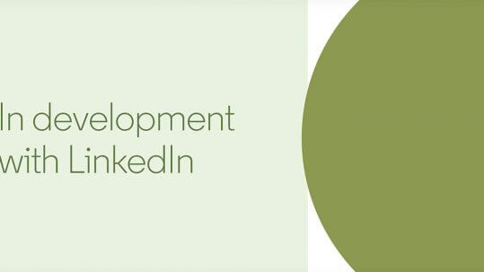 New Linkedin Company Page Design