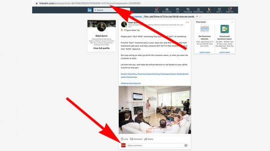 How to comment as your Linkedin Company Page Featured Image