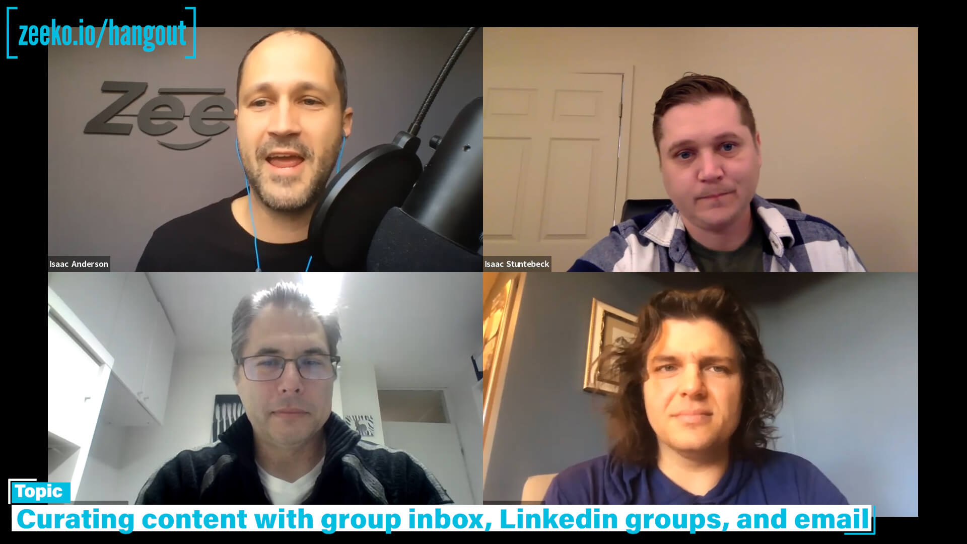 Linkedin Humpday Hangout - using custom Linkedin list exclusions