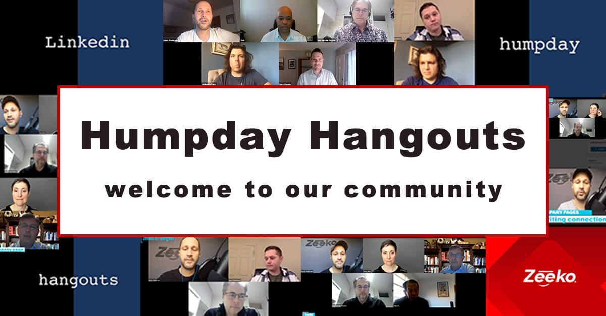 Linkedin Humpday Hangouts
