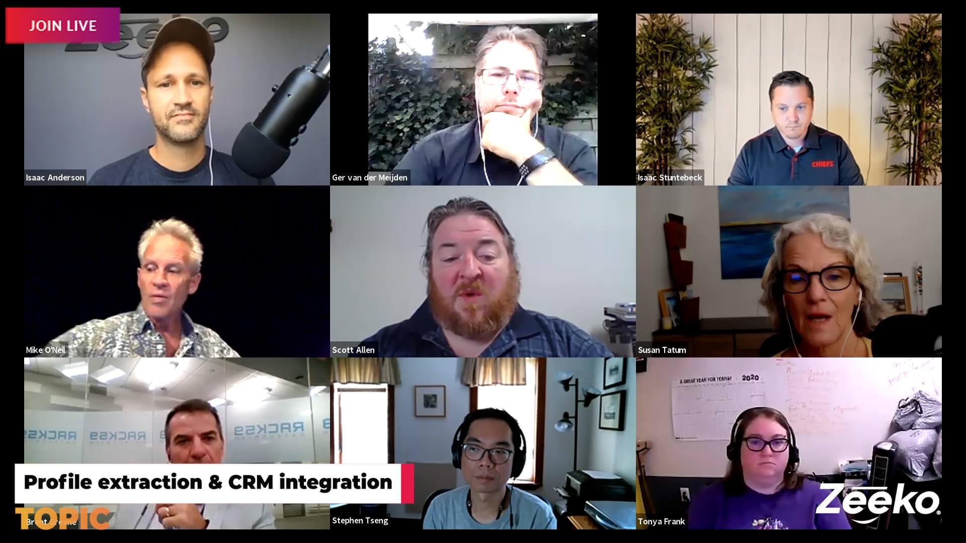 Linkedin Humpday Hangouts - Linkedin CTA's
