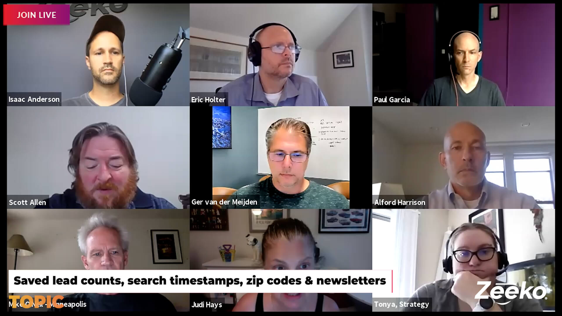 Humpday Hangout - Linkedin Virtual 'Rona Events, Saved Search Timestamps, Stories, and more