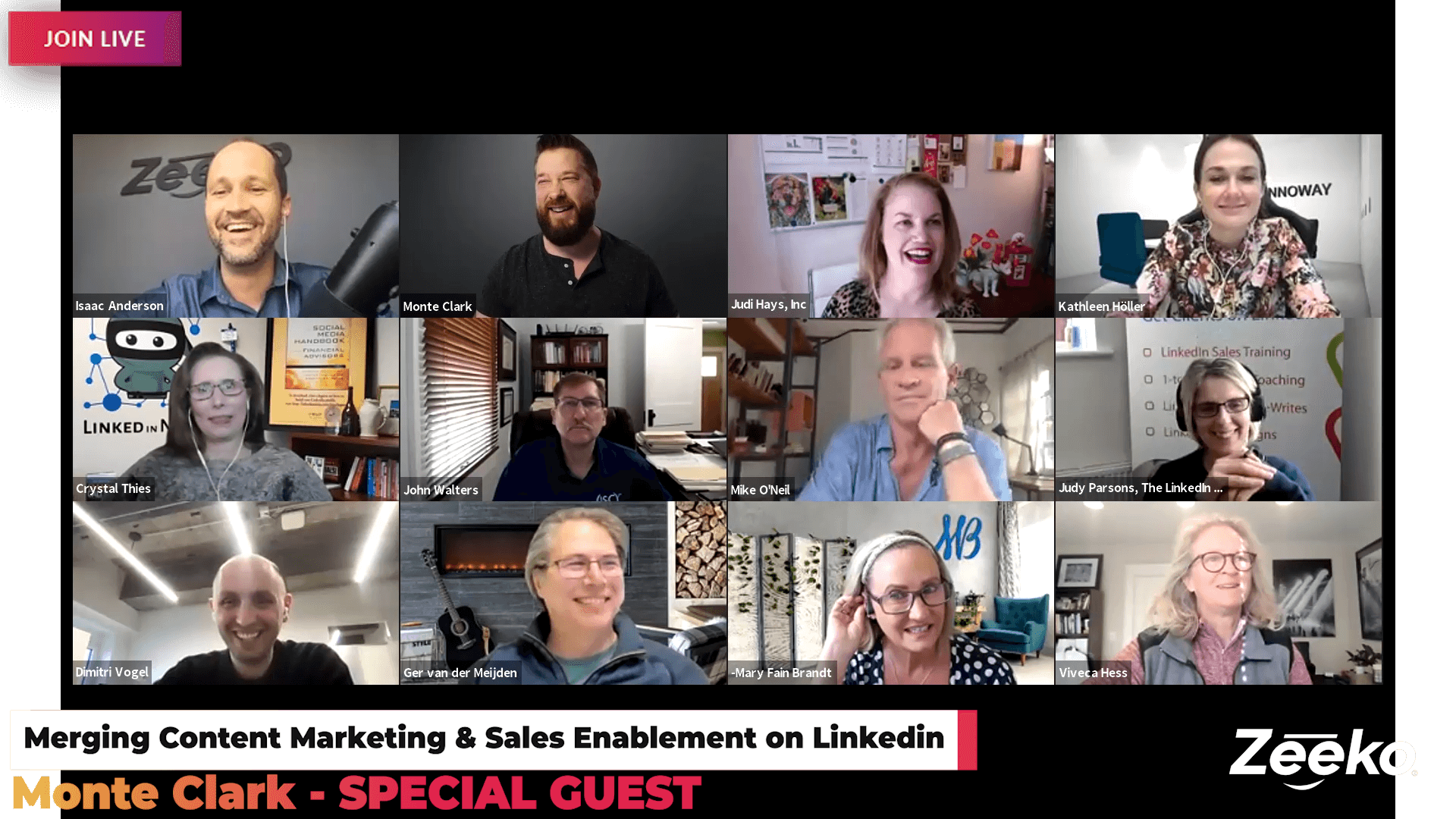 Merging Content Marketing & Sales Enablement on Linkedin