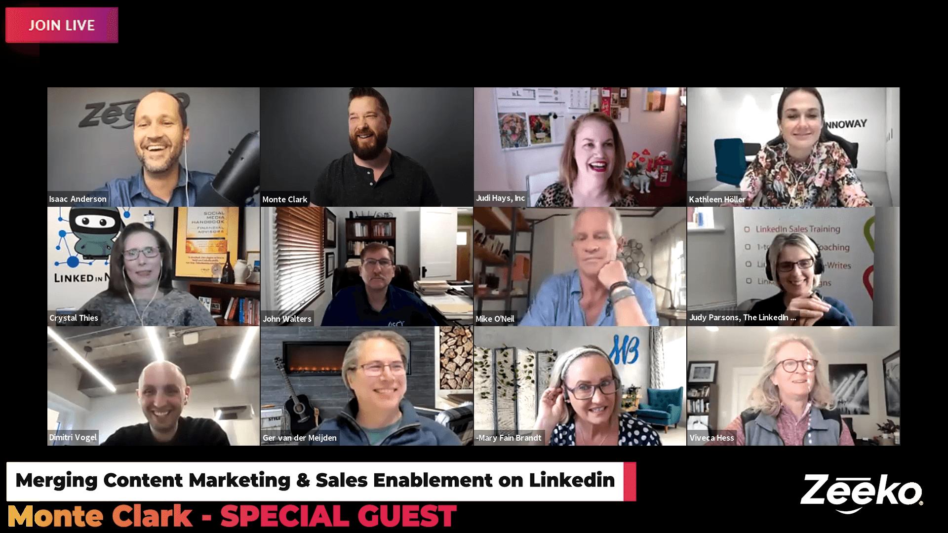 Merging Content Marketing & Sales Enablement on Linkedin