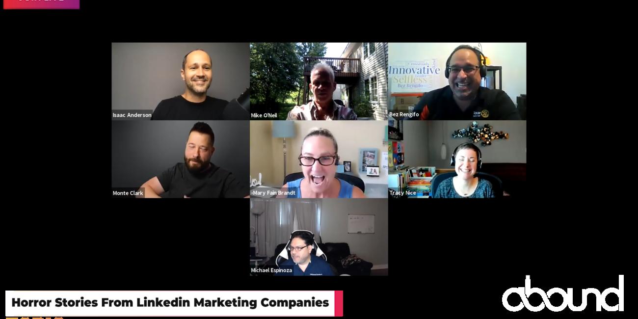 Horror Stories from Linkedin Marketing Companies